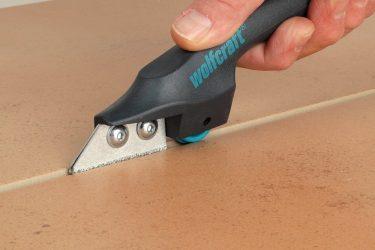 Как убрать старую затирку из швов плитки?