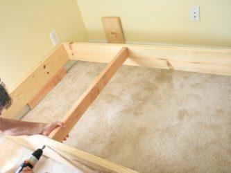 Как увеличить высоту кровати своими руками?