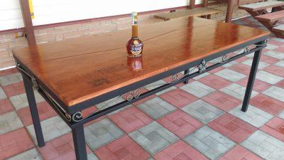 Столешница для уличного стола своими руками