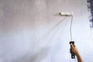 Грунтовка с песком на крашеные стены
