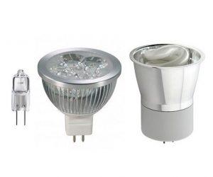 Галогеновые лампы для точечных светильников 12 вольт