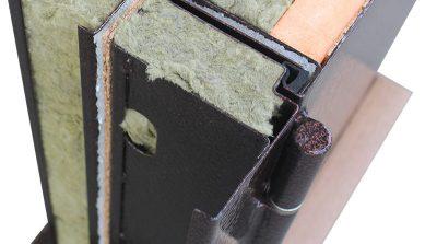 Дверь металлическая уличная входная защита от промерзания