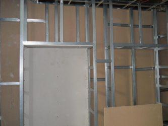Как сделать съемную стенку из гипсокартона?