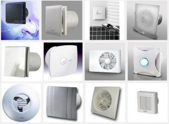 Вытяжной вентилятор в ванную комнату какой лучше?