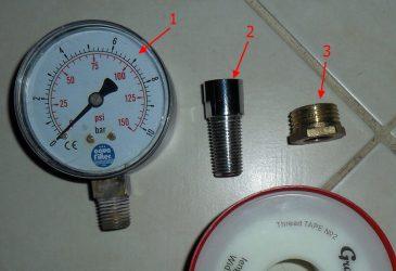 Как померить давление воды в квартире?