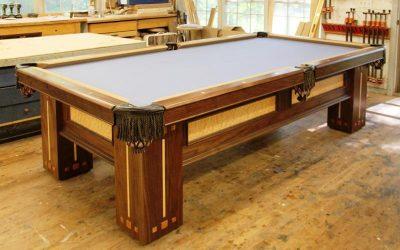 Как сделать стол для бильярда своими руками?