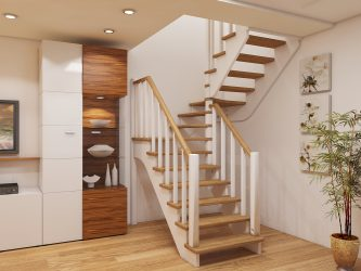 Внутридомовые лестницы на второй этаж