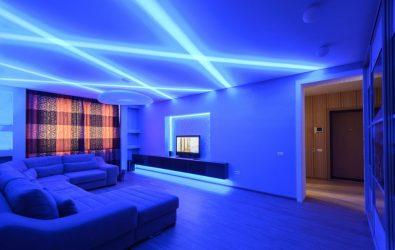 Как сделать светодиодное освещение в квартире?