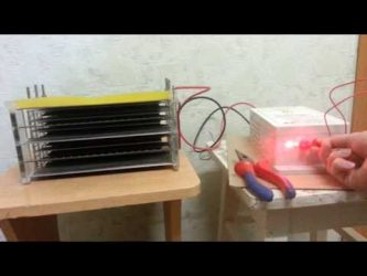 Электростатический фильтр своими руками
