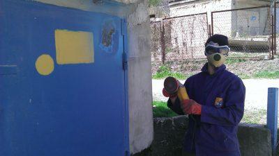 Краска для гаражных железных ворот