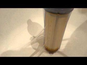 Лопнула колба водяного фильтра